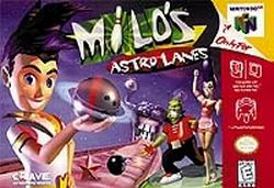 Milo's Astro Lanes (USA) Box Scan